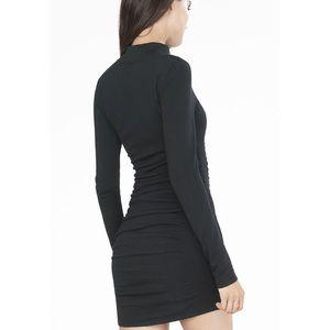 c440cb6c50 Express Dresses - Express mock neck sweater dress - black